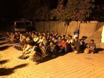 GÖÇMEN KAÇAKÇILIĞI - Van'da 52 Kaçak Göçmen Yakalandı