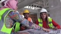 İŞ GÜVENLİĞİ UZMANI - Yeni Ordu Stadı'na Kadın Eli Değdi