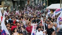 ATINA - Yunanistan'da 'Kemer Sıkma' Karşıtı Gösteri