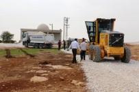 YAĞMURLU - Akçakkale'de Yol Yapım Çalışmaları Sürüyor