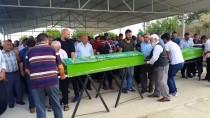 BOKSÖR - Almanya'da Trafik Kazasında Ölen Baba İle Kızı Toprağa Verildi