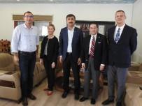 İŞADAMLARI - Amerika'nın Adana Konsolosu Alejandro Baez Mardin'e Geldi
