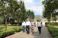 Başkan Baran, Yapımı Devam Eden Projeleri Yerinde İnceledi