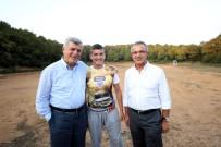 Başkan Karaosmanoğlu Umut'u Kırmadı