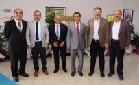 ERCIYES - Belediye Başkanlarından ERÜ Rektörü Çalış'a Ziyaret
