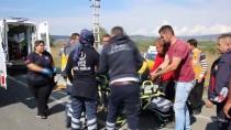 Bolu'da Trafik Kazası Açıklaması 2 Yaralı