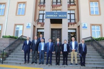 Çin Halk Cumhuriyeti İstanbul Başkonsolosu Cuı Wei, Çanakkale Valiliğini Ziyaret Etti