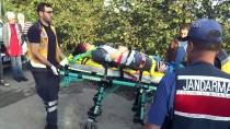 Fındık İşçilerini Taşıyan Traktör Devrildi Açıklaması 5 Yaralı