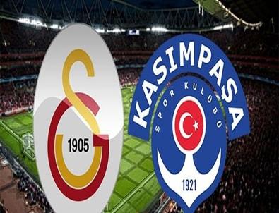 Galatasaray Kasımpaşa'yı dağıttı