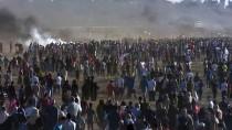 GAZZE - GÜNCELLEME - İsrail Askerleri Gazze Sınırında Biri Çocuk 3 Filistinliyi Şehit Etti