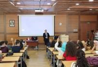 Hekim Adaylarına İlk Ders Rektör Tabakoğlu'ndan