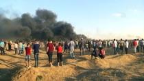 GAZZE - İsrail Askerleri Gazze Sınırında Biri Çocuk 2 Filistinliyi Şehit Etti