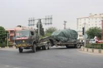 Kilis'te askeri sevkıyat sabaha kadar sürdü