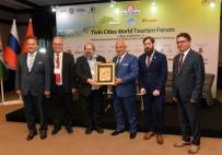 Kocamaz, 'Kardeş Şehirler Birliği Daimi Onursal Başkanı' Oldu
