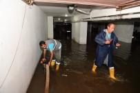 İŞ MAKİNESİ - Maltepe'de Su Baskınlarına Karşı Seferberlik