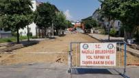 YıLDıZTEPE - Nazilli Belediyesi Güvenli Yollar İnşa Ediyor