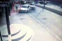E-5 KARAYOLU - (Özel) Trafik Kazasında Ölümün Teğet Geçtiği Anlar Kamerada