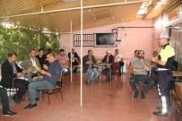 Polis Çay Ocaklarında Trafik Kurallarını Hatırlattı