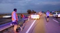 Sungurlu'da Otomobiller Çarpıştı  Açıklaması 2 Yaralı
