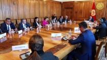 ÖMER FETHI GÜRER - TÜRKPA Milletvekilleri Kırgızistan'da