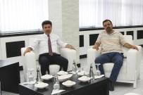 ÜAK Genel Sekreteri Göktaş'tan Rektör Karacoşkun'a Ziyaret