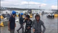 ÜÇÜNCÜ HAVALİMANI - Üçüncü Havalimanı Akpınar Yerleşkesi'nde Eylem Yapan İşçilere Müdahale