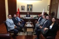 Vali Çakacak, Selkaspor Kulüp Yönetimini Kabul Etti