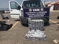 SAĞ VE SOL - Van'da Kapalı Kasa Kamyonette Bin 200 Paket Sigara Ele Geçirildi