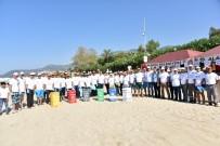 CENNET - Alanya Belediyesi Ve Gönüllüler Damlataş Plajı'nı Temizledi