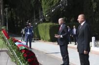 AZERBAYCAN CUMHURBAŞKANI - Aliyev'in Kabrini Ve Şehitlikleri Ziyaret Etti