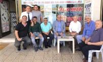 ORTAK AKIL - Başkan Seyfi Dingil'den Otogar Esnafına Ziyaret