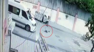 Çocuğa çarptı, arkasına bakmadan kaçtı!
