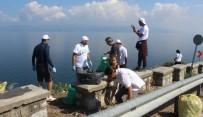 GÜZELYALı - Çöplüğe Dönen Mudanya'yı Gönüllüler Temizledi