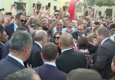 Erdoğan'a Azerbaycan'da yoğun ilgi