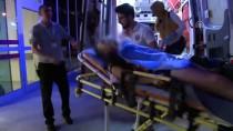 Eşini Rahatsız Ettiğini Öne Sürdüğü Market Sahibini Bıçakladı