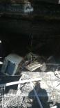 Feke'de Ev Ve İş Yeri Yangını