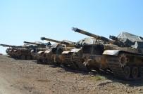 REYHANLI - Hatay'da Askeri Araç Sevkiyatı