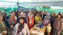 Kadın Haklarını Koruma Derneğinden Kızılcaköy Kadınlarına Destek