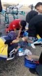 Kırşehir'de Otomobil Eşeğe Çarptı Açıklaması 1 Ölü