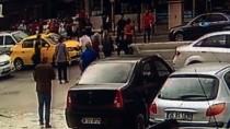 HAYDARPAŞA - Kız Arkadaşı İle Tartışan Gence Otomobil Böyle Çarptı