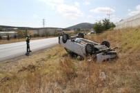 BEBEK - Konya'da Otomobil Takla Attı Açıklaması 3'Ü Bebek 6 Yaralı