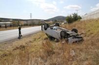 BEBEK - Otomobil Takla Attı Açıklaması 6 Yaralı