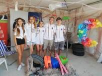 ALAÇATı - Sahilden Topladıkları Çöpleri Sanata Dönüştürecekler