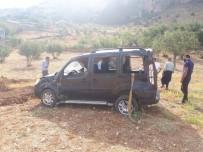Sincik'te Güvenlik Korucuları Kaza Yaptı Açıklaması 4 Yaralı