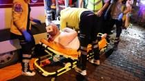 BÜYÜKDERE - Şişli'de Hasta Taşıyan Ambulans Kaza Yaptı Açıklaması 6 Yaralı