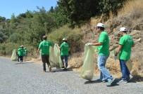 GÜLLÜBAHÇE - Temiz Bir Çevre İçin Çöp Topladılar