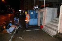 İŞ MAKİNESİ - Trabzon'da Heyelan Ve Su Taşkınlarının İzleri Siliniyor