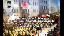 BAKÜ - TSK'dan Bakü'nün Kurtuluşuna Özel Klip