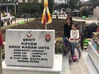 ZEYTIN DALı - Üsteğmen Usta'yı Şehit Eden Teröristler Yakalandı, Ailesi Şehidin Kabrine Koştu