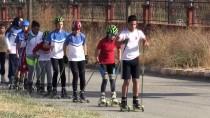 SAHİL YOLU - Van Gölü Kıyısında Yarışmalara Hazırlanıyorlar
